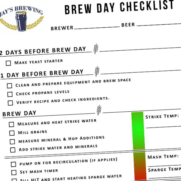 Beer Recipes | Jay's Brewing Blog